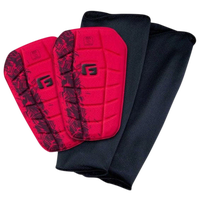 G-Form Pro-S Blade NOCSAE Shin Guard - Adult - Black / Red