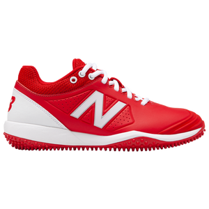 New Balance FuseV2 Turf - Women's - Red/White