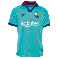 Nike Soccer Breathe Stadium Jersey - Men's - Barcelona - Light Blue