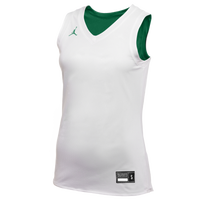 Jordan Team Reversible Practice Jersey - Women's - White / Dark Green