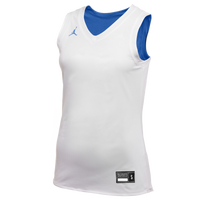 Jordan Team Reversible Practice Jersey - Women's - White / Blue