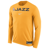 Nike NBA Graphic Practice L/S T-Shirt - Men's - Gold