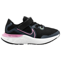 Nike Renew Run - Girls' Preschool - Black / White