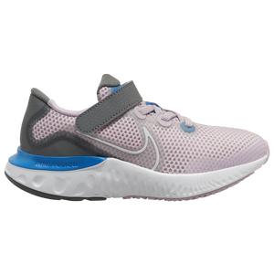Nike Renew Run - Girls' Preschool - Iced Lilac/White/Smoke Grey