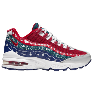 Nike Air Max 95  - Boys' Grade School - White/University Red/Noble Red