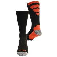 ProFeet Viper Crew Socks - Men's - Black / Orange