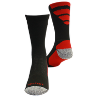 ProFeet Viper Crew Socks - Men's - Black / Red