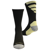 ProFeet Viper Crew Socks - Men's - Black / Yellow