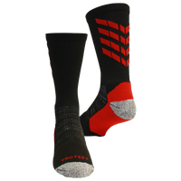 ProFeet Boost Crew Socks - Men's - Black / Red