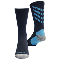 ProFeet Boost Crew Socks - Men's - Navy / Light Blue