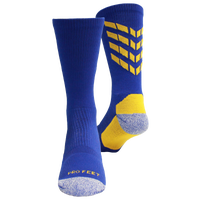 ProFeet Boost Crew Socks - Men's - Blue / Gold