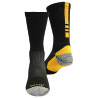 ProFeet Shooter 2.0 Crew Socks - Men's - Black / Yellow