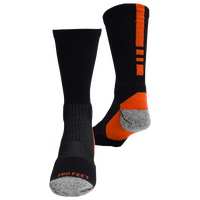 ProFeet Shooter 2.0 Crew Socks - Men's - Black / Orange