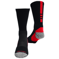 ProFeet Shooter 2.0 Crew Socks - Men's - Black / Red