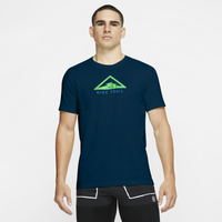 Nike Nike Trail Run Dry SS Tee - Men's - Dark Green