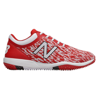 New Balance 4040v5 Turf - Men's - Red / White