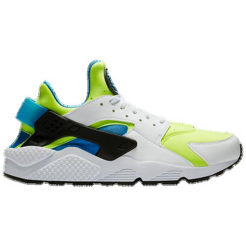 7b2596d75f4d7 Nike Air Huarache - Men s - Casual - Shoes - White Volt Black Photo Blue