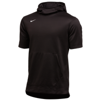 Nike Team Spotlight S/S Hoodie - Men's - Black