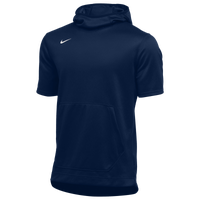 Nike Team Spotlight S/S Hoodie - Men's - Navy