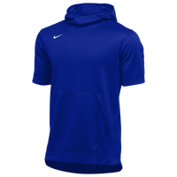 Nike Team Spotlight S/S Hoodie - Men's - Blue