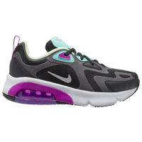 Nike Air Max 200 - Girls' Grade School - Grey