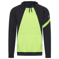Nike Team Academy 20 Hoodie - Men's - Grey / Light Green