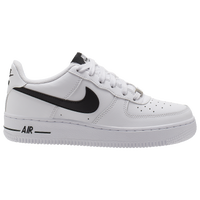 Nike Air Force 1 Low - Boys' Grade School - White / Black
