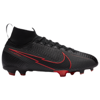 Nike Mercurial Superfly 7 ELite FG - Boys' Grade School - Black