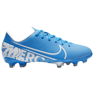 Nike Mercurial Vapor 13 Academy FG/MG - Boys' Grade School - Blue Hero/White/Obsidian