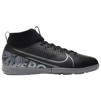 Nike Mercurial Superfly 7 Academy TF - Boys' Grade School - Black / Grey