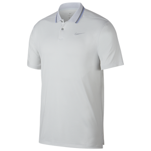 Nike Dry Vapor Control Golf Polo - Men's - Pure Platinum/Pure