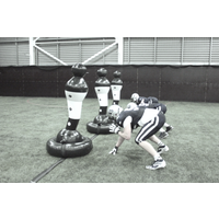 Shadowman Sports 3 Man Towline Football Trainer