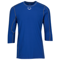 Evoshield Pro Team Mid Sleeve Shirt - Men's - Blue