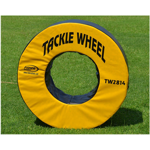 Fisher Athletic Pursue and Tackle Wheel - Yellow