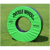 Fisher Athletic Pursue and Tackle Wheel - Green / Black