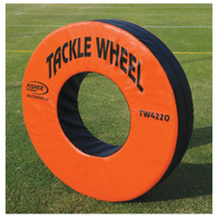 Fisher Athletic Pursue and Tackle Wheel - Orange / Black