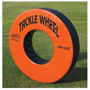 Fisher Athletic Pursue and Tackle Wheel - Orange