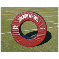 Fisher Athletic Pursue and Tackle Wheel - Red / Black