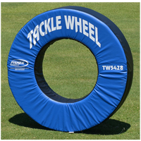Fisher Athletic Pursue and Tackle Wheel - Blue / Black