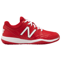 New Balance 4040v5 Youth Turf - Boys' Grade School - Red