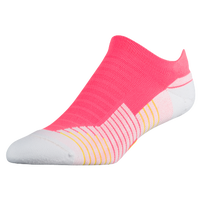 Under Armour Threadborne Charged Cushion Single Tab - Men's - Pink / White