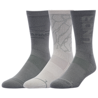 Under Armour 3 Pack Phenom Novelty Crew Socks - Men's - Grey