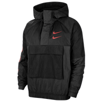 Nike Swoosh Woven Jacket - Men's - Black