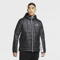 Nike Synthetic Fill Fleece Lined Jacket - Men's - Black