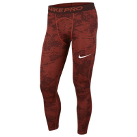 Nike Pro Compression Tights - Men's - Orange