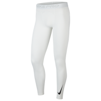 Nike Pro Warm Compression Tights - Men's - All White / White