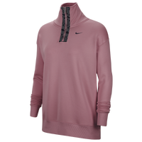 Nike Nike Therma All Time GX Taper Halfzip - Women's - Pink