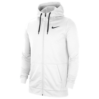 Nike Therma Full Zip Hoodie - Men's - White
