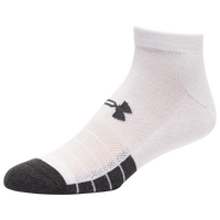 Under Armour 6 Pack Performance Tech Low Cut Socks - Men's - White