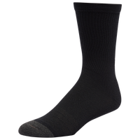 Under Armour 6 Pack Performance Tech Crew Socks - Men's - Black